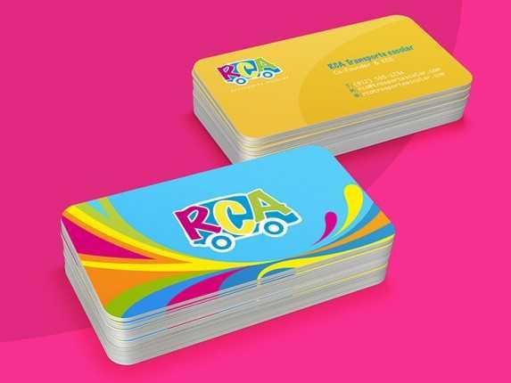Ecco le Business Card di RCA trasportes: per l'agenzia Brasile è infatti un case study di successo!