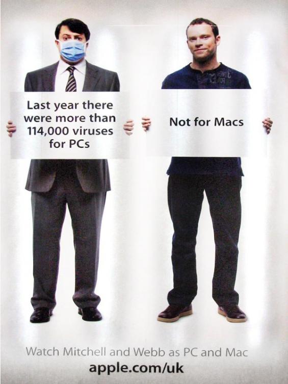 Vi piacciono le brand wars? Ecco dieci campagne pubblicitarie senza esclusione di colpi! Qui Mac Vs Pc