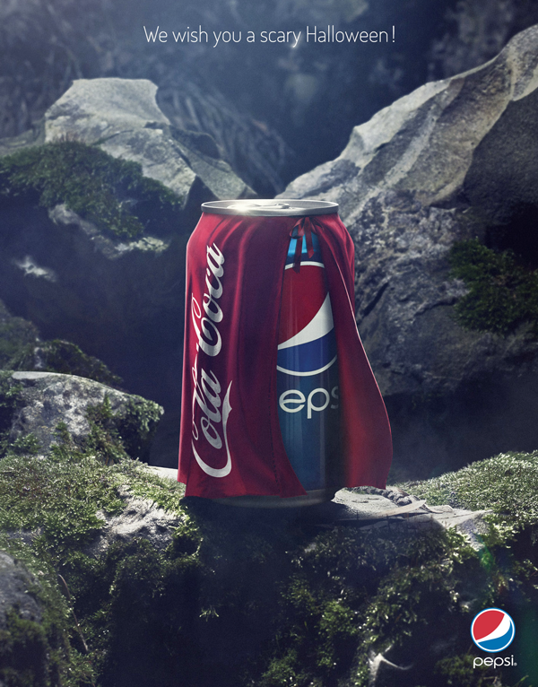 Vi piacciono le brand wars? Ecco dieci campagne pubblicitarie senza esclusione di colpi! Qui Pepsi Vs Coca-Cola