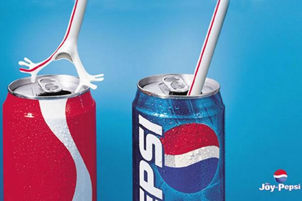 Vi piacciono le brand wars? Ecco dieci campagne pubblicitarie senza esclusione di colpi! Qui ancora Pepsi Vs Coca