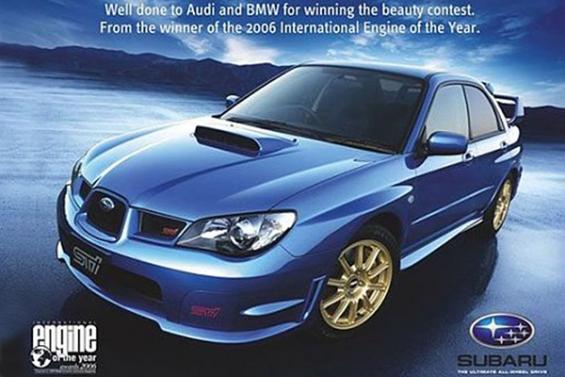 Vi piacciono le brand wars? Ecco dieci campagne pubblicitarie senza esclusione di colpi! Qui Subaru Vs BMW e Audi