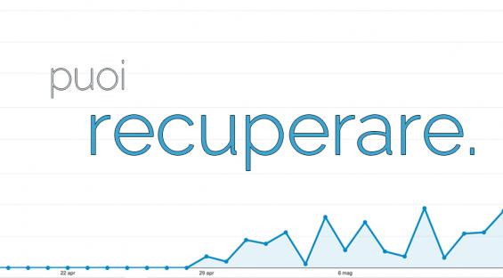 Il recupero delle visite perse da Google è possibile. Ecco come!