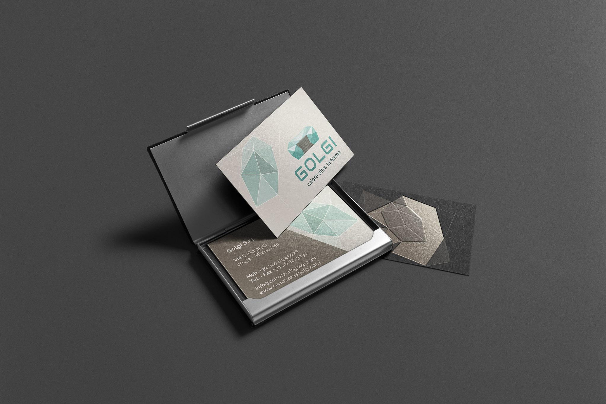 Business Card Automotive Company