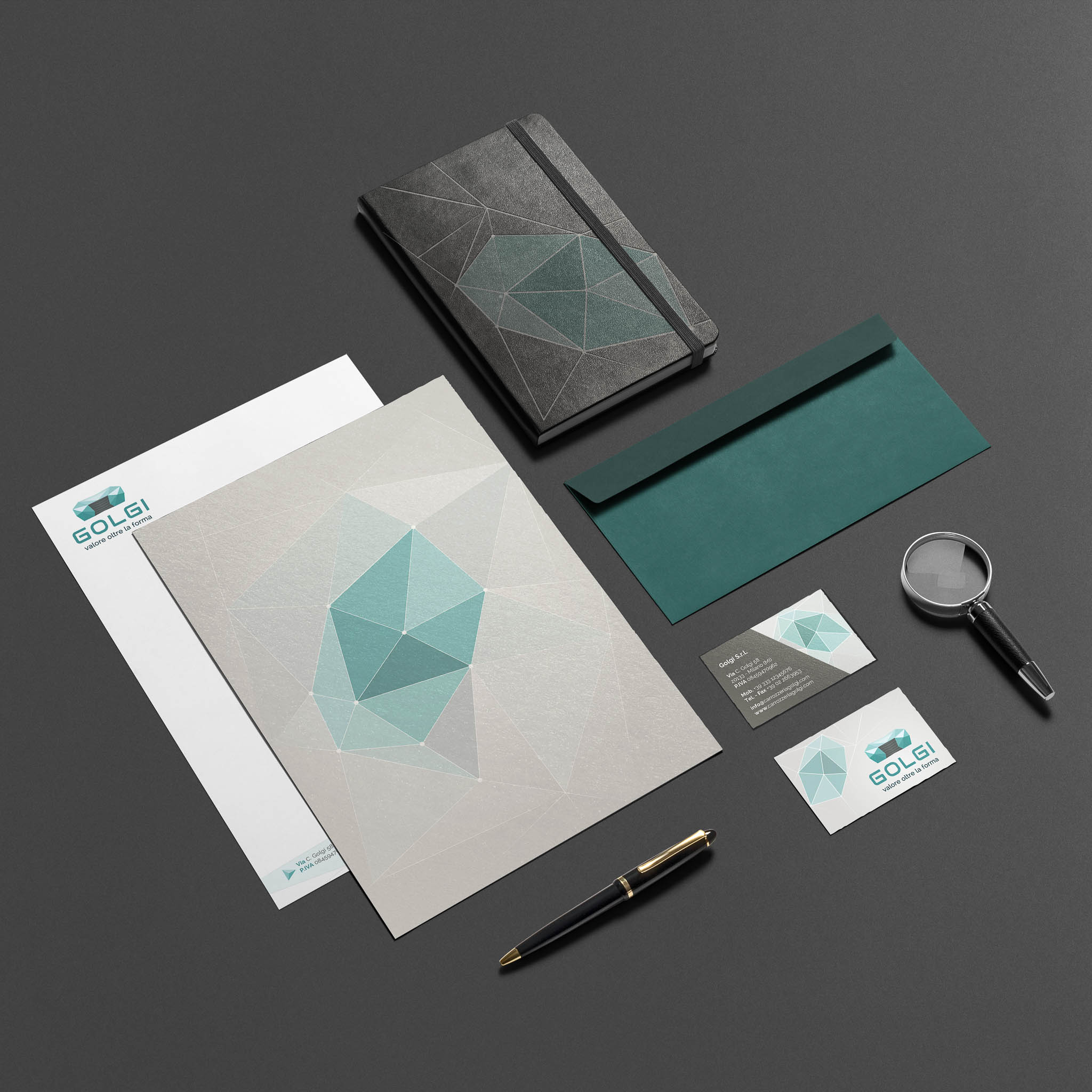 Corporate Identity Automotive Company