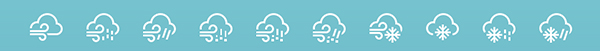 Social Weather Icon Second