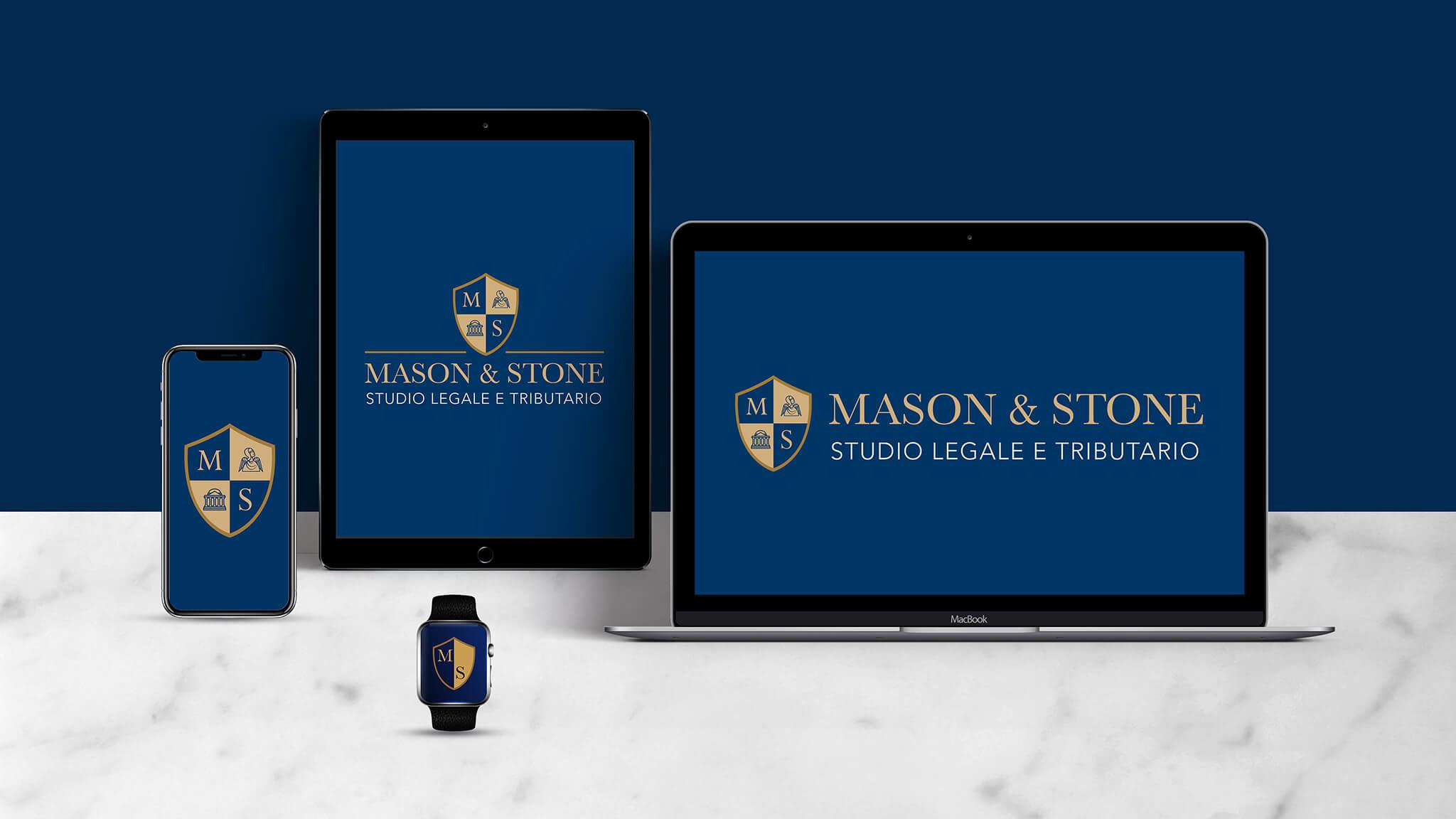 Mason & Stone - Responsive Logo